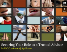 Securing Your Role as a Trusted Advisor
