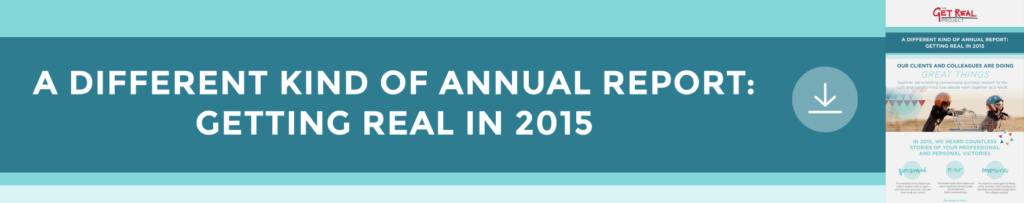 Get Real Annual Report 2015